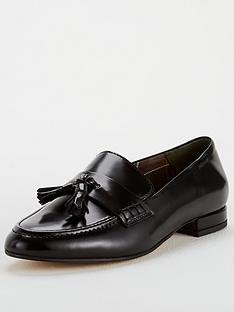 barbour-evelyn-flat-shoe-black