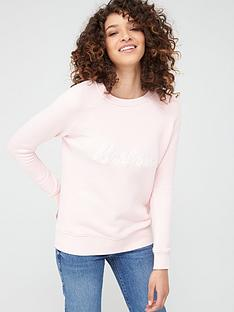 barbour-otterburn-overlayer-sweatshirt-pink