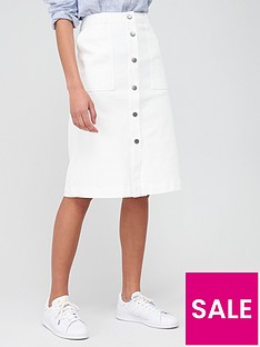barbour-maddison-canvas-skirt