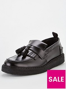 fred-perry-tassel-loafer-black