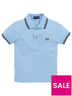 fred-perry-boys-twin-tipped-short-sleeve-polo-sky-blue