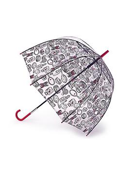 lulu-guinness-birdcage-dressing-table-print-umbrella-clear