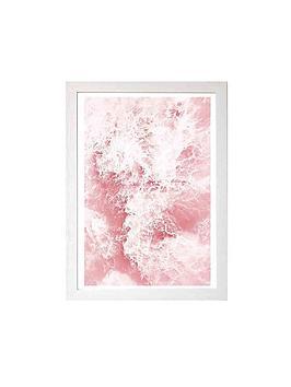 east-end-prints-pink-ocean-by-sisi-amp-seb-a3-framed-wall-art