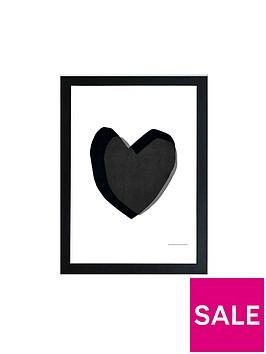 east-end-prints-black-heart-by-seventy-tree-a3-wall-art