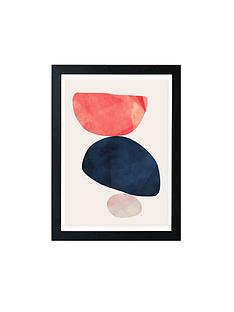 east-end-prints-balance-ii-by-tracie-andrews-a3-framed-wall-art