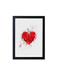 east-end-prints-fragile-heart-by-tracie-andrews-a3-framed-wall-art