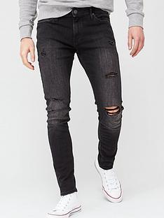 jack-jones-intelligence-liam-skinny-fit-rip-jeans-washed-black