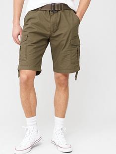prod1089334897: Charlie Cargo Shorts - Forest Night