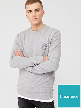jack-jones-originals-lagmore-small-logo-sweatshirt-light-grey-marl