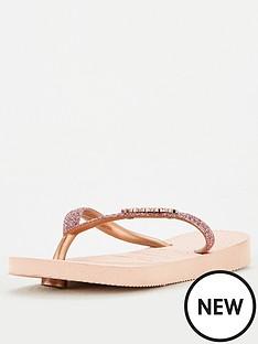havaianas-girls-slim-shiny-flip-flop-rose-gold