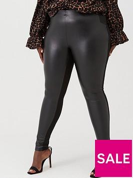 junarose-pu-legging-black