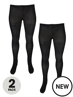 junarose-curve-junas-2-pack-tights-black