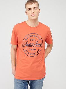 jack-jones-originals-small-langmore-chest-t-shirt-chilli