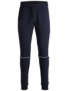 jack-jones-core-colour-block-joggers-navy