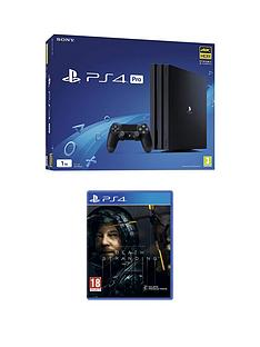 playstation-4-ps4nbsppronbspwith-death-stranding-and-optional-extras-1tb-console