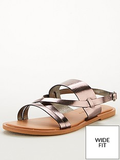v-by-very-hero-wide-fit-leather-strappy-sandal-pewter