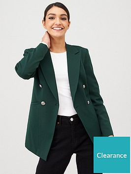 v-by-very-longline-military-jacket-forest-green