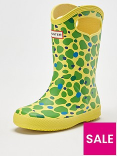 hunter-kids-first-classic-spot-camo-pull-on-wellington-boot-multi