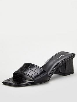 v-by-very-braxton-square-toe-low-block-heel-mule-black