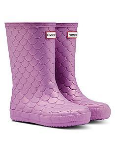 hunter-kids-first-classic-sea-dragon-wellington-boot-purple