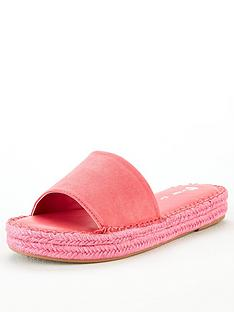 v-by-very-hydra-colour-flood-espadrille-slider-pink