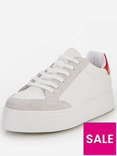 v-by-very-contrast-trainer-white