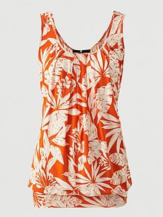 v-by-very-tall-scoop-neck-bubble-hem-vest-orange-print