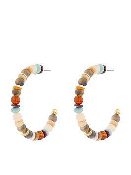 accessorize-stone-beaded-hoop-earrings-multi