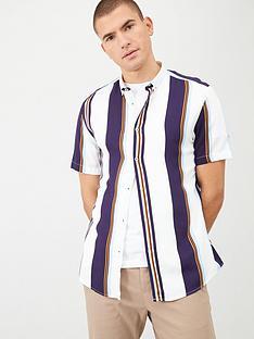 river-island-short-sleeve-stripe-shirt
