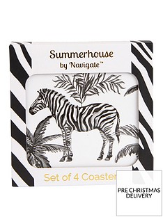 summerhouse-by-navigate-madagascar-zebra-repeat-coasters-ndash-set-of-4