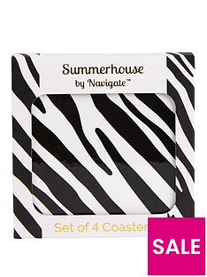 summerhouse-by-navigate-madagascar-zebra-stripe-coasters-ndash-set-of-4
