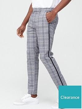 river-island-check-skinny-trouser-greybluenbsp