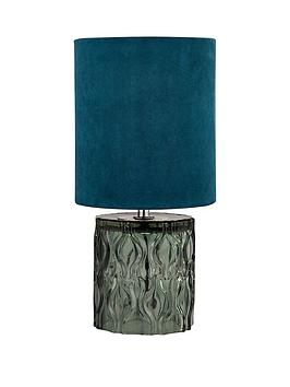 textured-glass-base-table-lamp