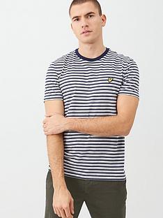 lyle-scott-stripe-t-shirt-navy
