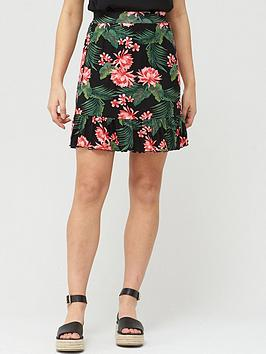 v-by-very-frill-hem-jersey-mini-skirt-black-print