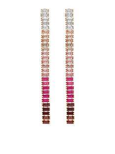 accessorize-baguette-slinky-drop-earrings-pink
