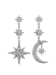 mood-mood-silver-plated-crystal-celestial-star-and-moon-drop-earrings