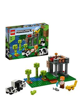 lego-minecraft-21158-the-panda-nursery-with-alex-and-animal-figures