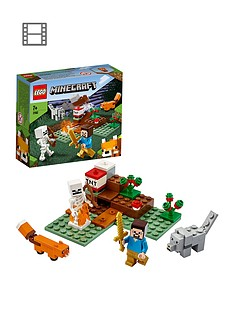 lego-minecraft-21162-the-taiga-adventure-with-steve-and-animal-figures