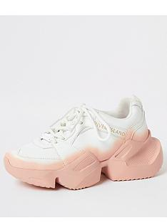 river-island-girls-ombre-chunky-trainers-white