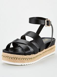 v-by-very-hunt-stud-trim-strappy-flatform-sandal-black