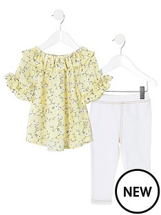 river-island-mini-mini-girls-floral-blouse-and-jegging-yellow