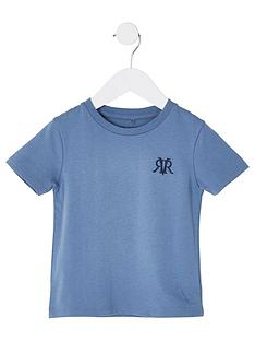 river-island-mini-boys-rvr-embroidered-t-shirt--nbspblue