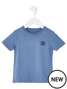 river-island-mini-mini-boys-rvr-embroidered-tshirt-blue