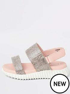 river-island-mini-mini-girls-diamante-chunky-sole-sandals-pink