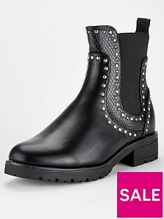 v-by-very-stud-trim-chelsea-boot-black