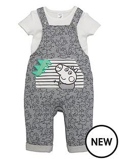 peppa-pig-baby-boy-george-pig-dungaree-and-t-shirt-set-grey