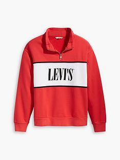 levis-plus-logo-sweatshirt-red