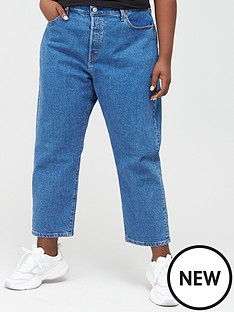 levis-plus-501reg-crop-jeans-denim