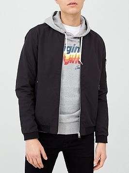 jack-jones-essentials-jerush-bomber-jacket-black